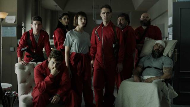 Netflix confirma a terceira parte de 'La Casa de Papel' em 2019