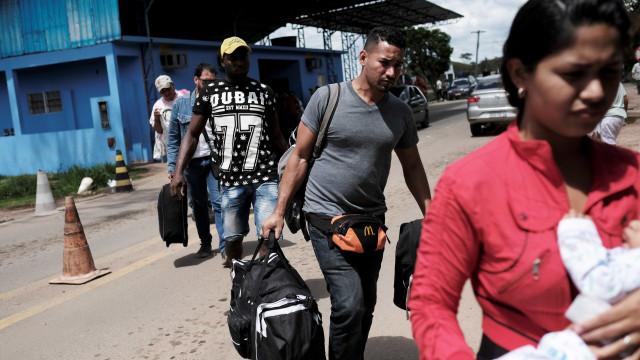PF recebe pedido de regularização de mais de 56 mil venezuelanos