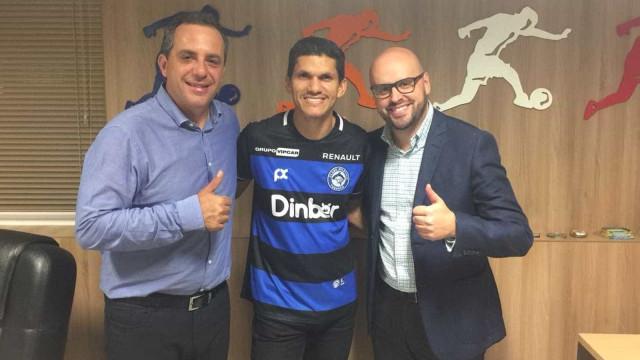 Aos 42 anos, Magno Alves assina com time de SC para jogar a Série D