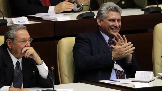 Miguel Díaz-Canel é indicado para substituir Raúl Castro em Cuba