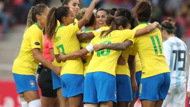 Seleção feminina se classifica para a Copa do Mundo da França
