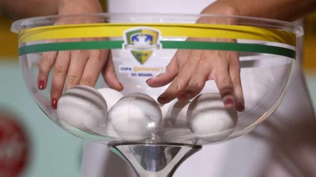 Sorteio define jogos das oitavas da Copa do Brasil; confira