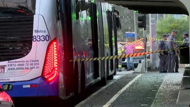 Três pessoas são suspeitas de envolvimento em assalto a ônibus em SP
