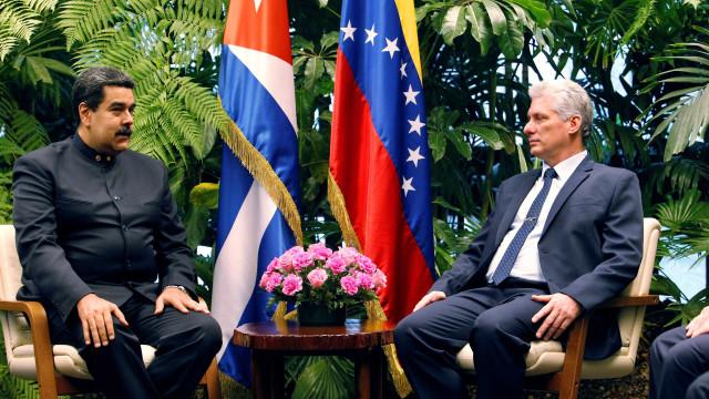 Dois dias após posse, Díaz-Canel recebe Maduro em Cuba