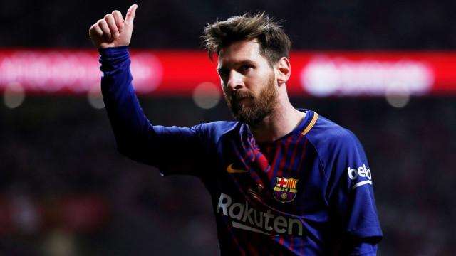 Messi: 40 gols pela nona temporada consecutiva