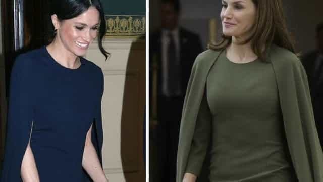 Estilo: Meghan Markle comparada à rainha Letizia; você concorda?