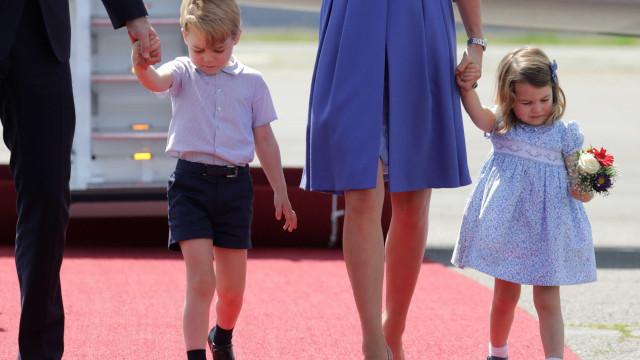 Filha de Kate e William entra para história com nascimento do irmão