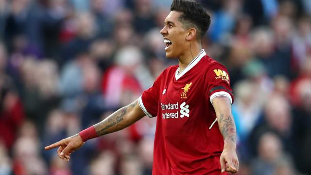 Firmino exalta Klopp no Liverpool e já sonha com gol na Copa do Mundo