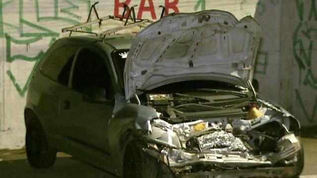 Carro invade contramão e deixa feridos na Zona Leste de SP