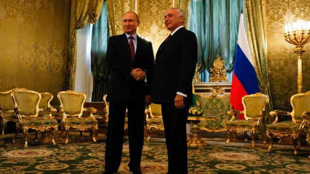 Putin convida Temer para a festa de abertura da Copa do Mundo