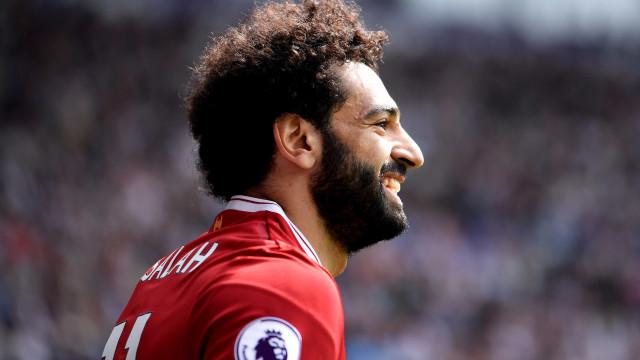 Liverpool só vai negociar Salah por valor que supera preço de Neymar