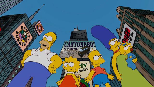Homer é vaiado por piada clichê e brinca sobre perder audiência
