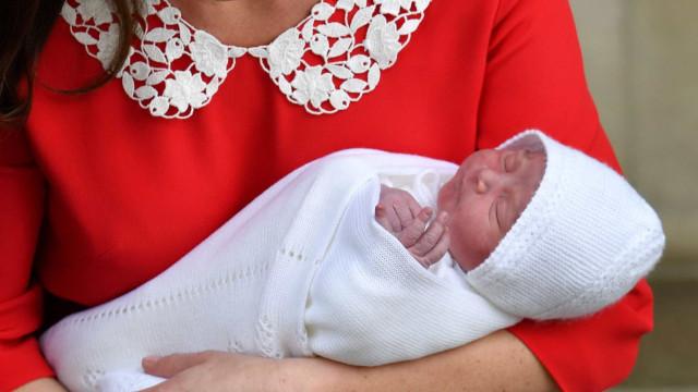 Finalmente! Kate e William anunciam o nome do 3º filho