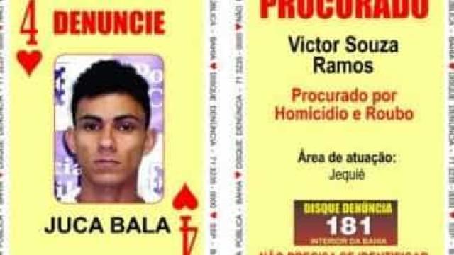 '4 de Copas do Baralho do Crime' morre em ação policial na Bahia