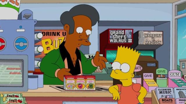Personagem Apu, de 'Os Simpsons', pode acabar após polêmicas de racismo