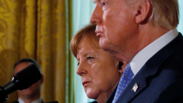 'Trump é que vai decidir', diz Merkel sobre tarifas de aço e alumínio