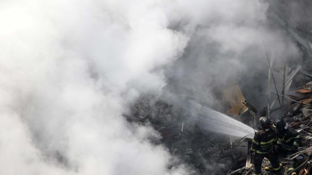 Relatório: prédio que desabou não tinha segurança contra incêndio