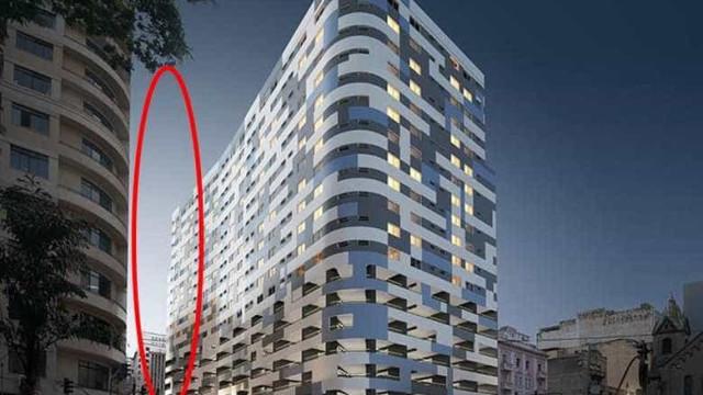 Publicidade de lançamento imobiliário já 'eliminava' prédio que desabou