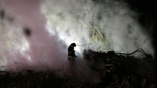 Pedido de socorro de homem que estava em prédio incendiado é revelado