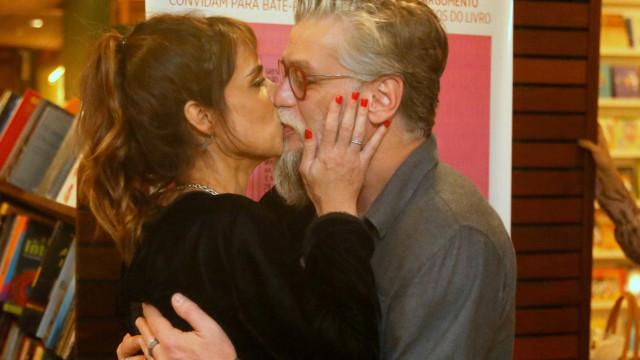 Fábio Assunção e Maria Ribeiro voltam a namorar, diz jornal