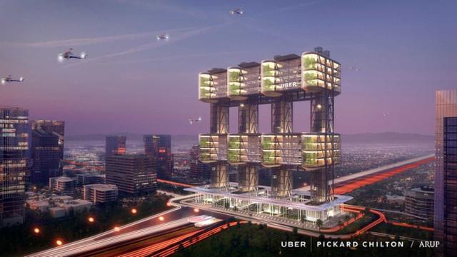 Carro voador do Uber vai transportar 4 mil pessoas por hora; conheça