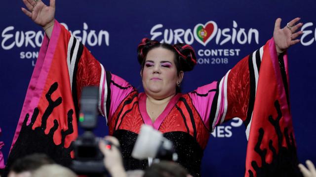 Favorita, cantora israelense Netta vence festival de música Eurovisão