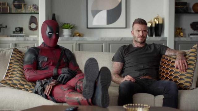 Deadpool pede desculpas a Beckham por piada com voz do jogador