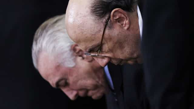 Michel Temer: 'Meirelles é mais candidato do que eu'