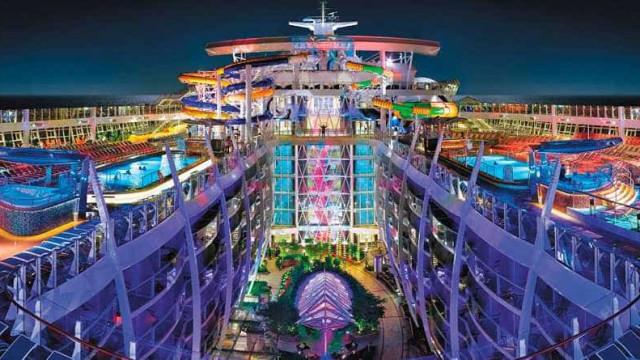 Maior cruzeiro do mundo: conheça o Symphony of the Seas