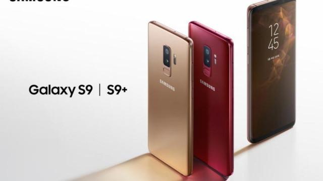 Samsung confirma duas novas cores para o Galaxy S9