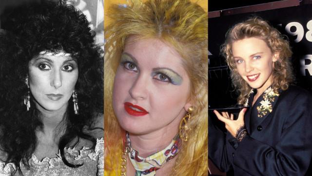 Veja o antes e depois das divas dos anos 80