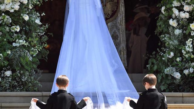 Véu de Meghan Markle representa os 53 países de Commonwealth