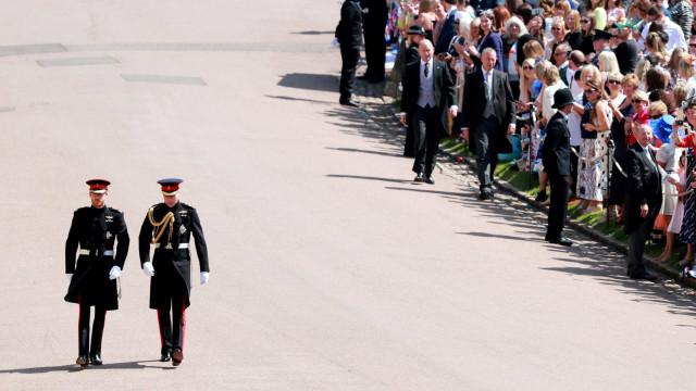 Casamento de Harry tem menos audiência que o de William