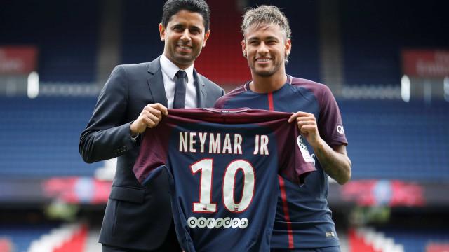 Presidente do PSG garante permanência de Neymar: 'Ele vai ficar'