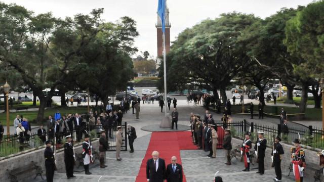 Reino Unido homenageia vítimas da Guerra das Malvinas