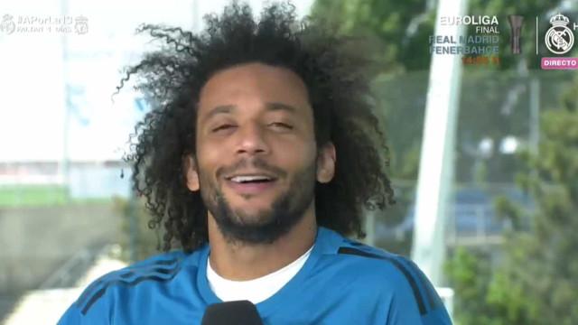 Com 'fome de vencer', Marcelo espera um Liverpool 'difícil' em Kiev