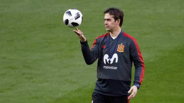 Espanha anuncia a renovação de contrato do técnico Lopetegui até 2020
