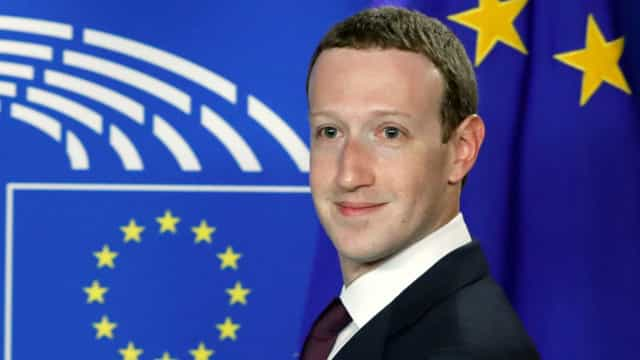 Mark Zuckerberg pede perdão diante do Parlamento Europeu