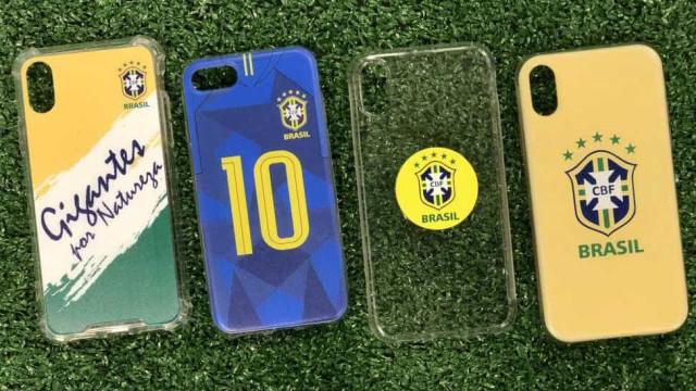 CBF lança capinha de celular oficial da Seleção