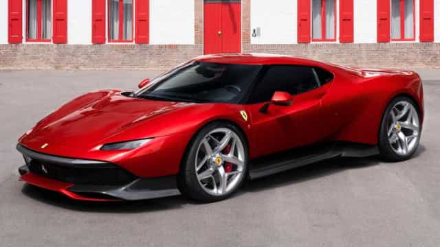Ferrari faz modelo único para 'cliente dedicado'; veja as fotos