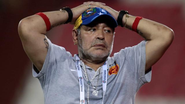 Maradona diz não confiar na Argentina por causa de Sampaoli