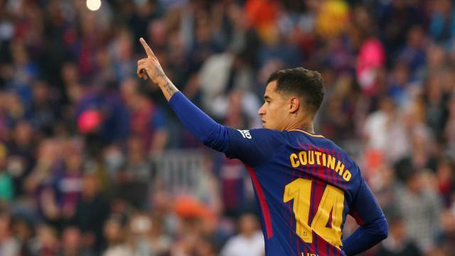 Veja todos os gols de Philippe Coutinho com a camisa do Barcelona
