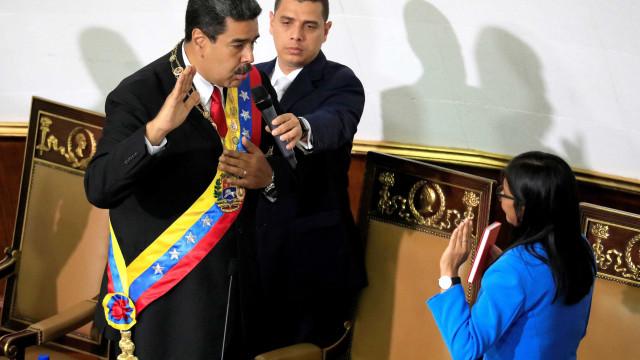 Nicolás Maduro fez juramento para novo mandato na Venezuela