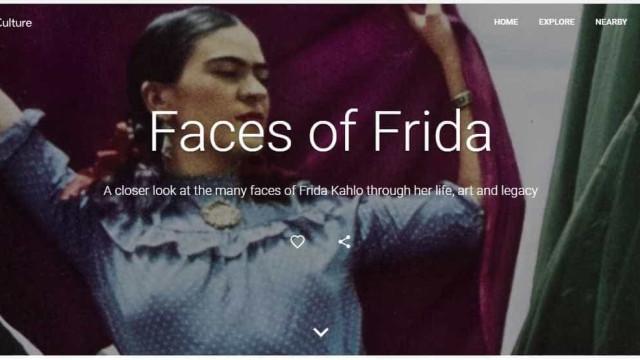 Frida Kahlo ganha exposição virtual em plataforma do Google