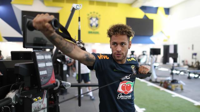 Neymar volta a dizer que é torcedor do Palmeiras