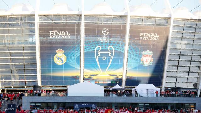 Real mostra vestiário antes da final contra o Liverpool