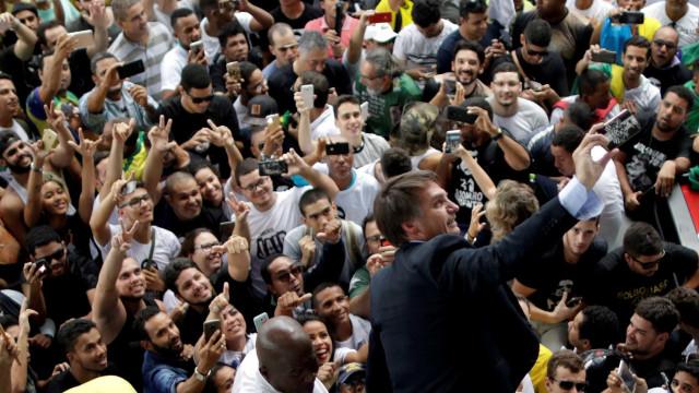 Bolsonaro é presidenciável mais citado no Twitter em posts sobre greve