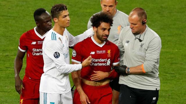 Egito crê que terá Salah na Copa após contato com médico do Liverpool
