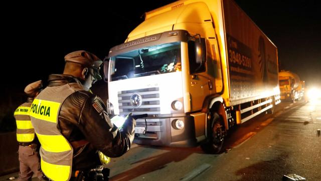 Polícia Rodoviária aponta 554 pontos de manifestação em estradas