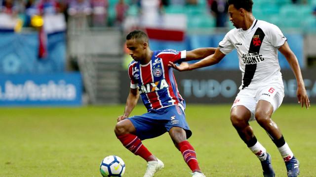 Vasco perde de novo para o Bahia por 3 a 0 na Fonte Nova